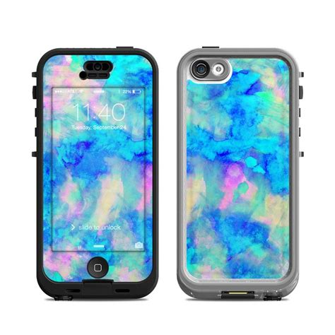 lifeproof cases for iphone 5c lifeproof iphone 5c nuud case skin electrify ice blue by Lifep