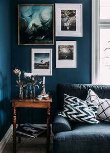 6 best paint colors to get you those moody vibes With what kind of paint to use on kitchen cabinets for papier peint bleu nuit