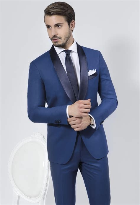 blue tuxedos for weddings find more tuxedos information about mens suits with tuxedo navy suit blue shawl lapel