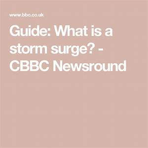 Guide  What Is A Storm Surge