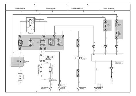 Lexus Wiring Power Schematic Online Diagram