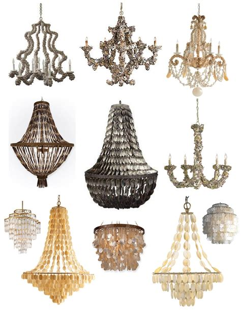 shell chandeliers inspirations from the sea shell chandeliers