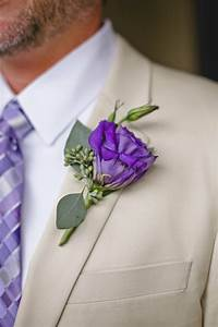 Club Party Invitations Purple Lisianthus Boutonniere