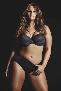 Ashley Graham rides the subway in lingerie for her sexy ...