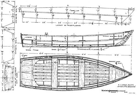 Skiff Boat Drawings by Free Skiff Boat Plans Boat Plans