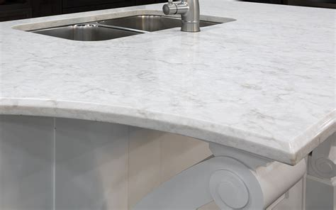 Laminate Countertop Beveled Edge by Types Of Countertop Edges The Home Depot