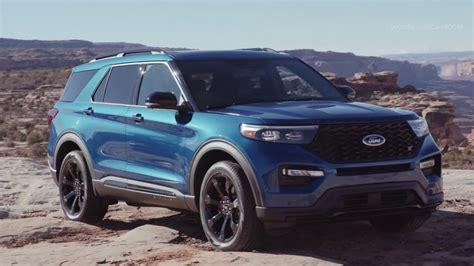 2020 Ford Explorer St 400-horsepower Crossover