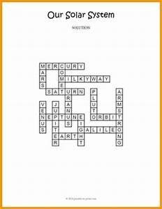 Our Solar System Crossword Puzzle by Puzzles to Print | TpT