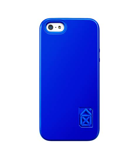blue iphone iphone 5 iphone 5s skin and bones blue