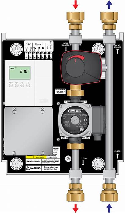 Way Panel Outdoor Tmp Reset Automatic Mixing