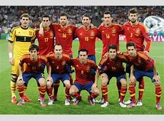 Spain Football Team Squad Roster For World Cup 2014