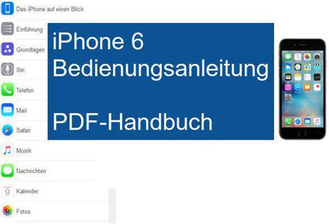 iphone 6 software update iphone 6 bedienungsanleitung freeware de