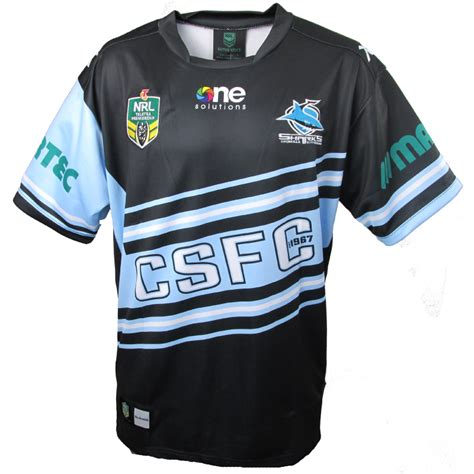 cronulla sharks 2015 alternate jersey