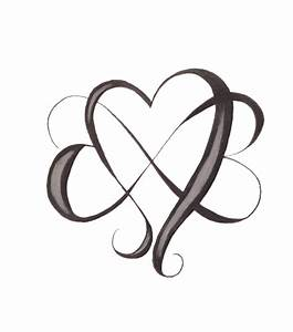 Heart With Infinity Symbol Tattoo | Car Interior Design
