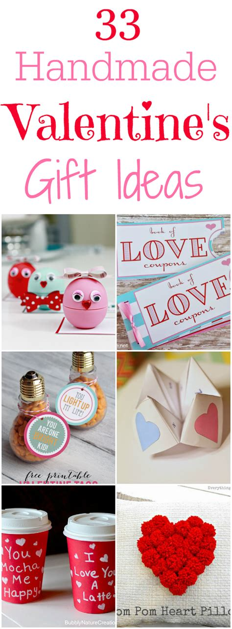 home made gift ideas 33 handmade valentines gift ideas mom 4 real