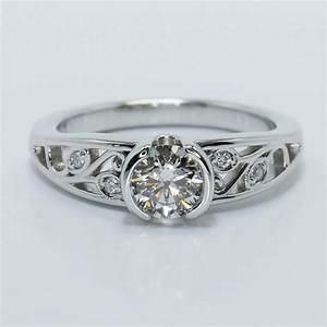 antique style engagement rings for active women With active wedding rings
