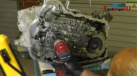 volvo xc te automatic transmission disassembly youtube