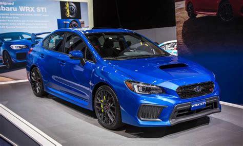 Subaru Releasing Refreshed 2018 Model Of Wrx And Wrx Sti