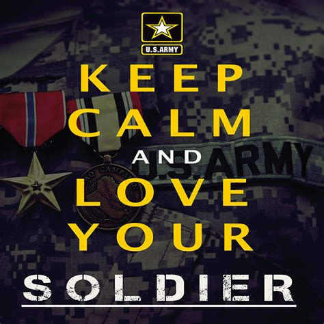 """Army """"stay Calm"""" Poster (v2)  Usa Military Posters"""