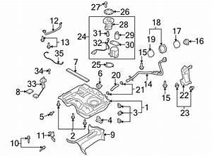 Mazda Cx-9 Fuel  Filter  W  Awd