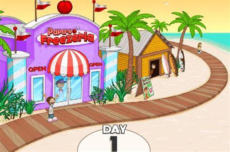 jeux de cuisine professionnelle gratuit papa 39 s freezeria sur jeux fille gratuit