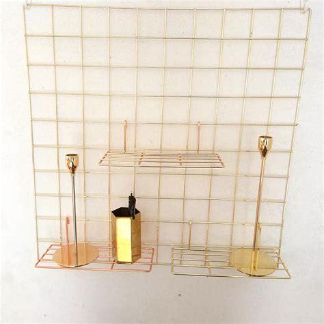 nordic metal wall mesh photo grid wrought iron photo wall hanging rack plate storage rack holder