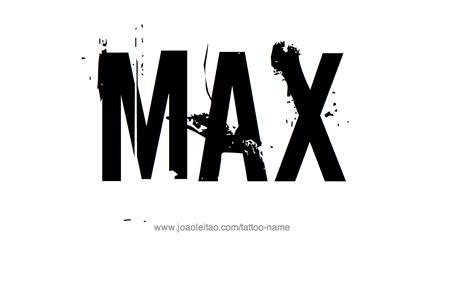 max  tattoo designs
