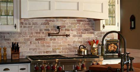 Faux Brick For Kitchen Backsplash Fresh Kitchen Stacked