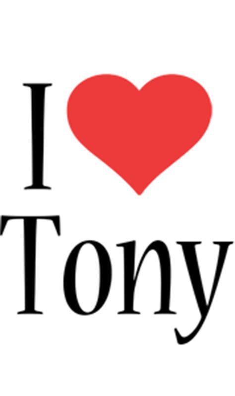 Tony Logo  Name Logo Generator  Kiddo, I Love, Colors Style