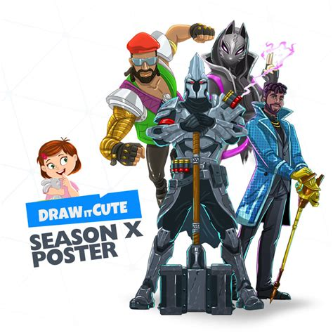 fortnite season  poster draw  cute