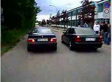 BMW 318IS vs MERCEDES C280 YouTube