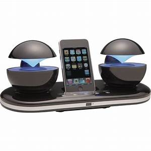 Iphone 4 Dockingstation : speakal icrystal docking station speakers for ipod iphone 4 with touch control ebay ~ Sanjose-hotels-ca.com Haus und Dekorationen