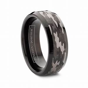 Black Wedding Rings For Men Unusually Draw Much Attention
