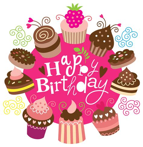 Birthday Pictures Clip Cake Clipart Happy Birthday Pencil And In Color Cake