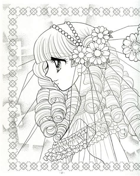 japanese coloring book 1000 images about coloring pages shojo anime on