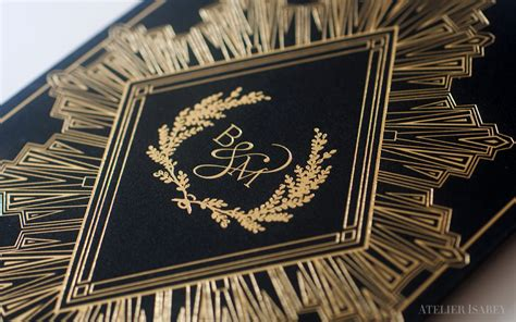 Business Cards That Stand Out by All That Glitters Is Gold Foil The Metallic Trend In