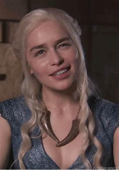 Clarke Emilia Daenerys Face Gag Gifs Celeb