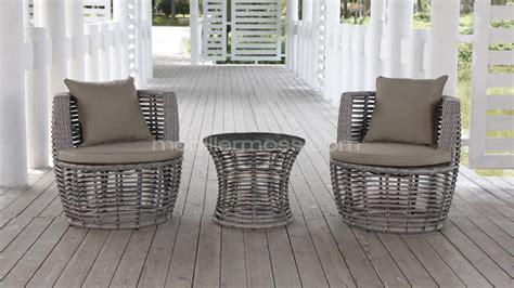 salon de jardin moderne valina  fauteuils exterieurs table basse