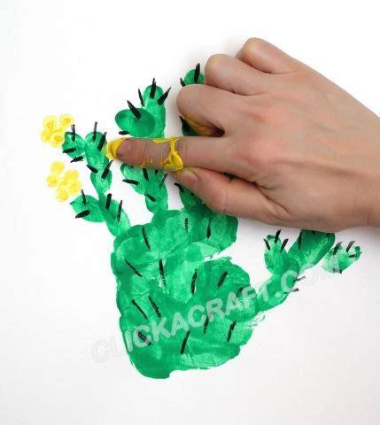 handprint and fingerprint cactus craft handprint 410 | 04b927619dfdfae899fe242a66b4a7fd