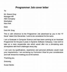 Programmer Resume Sample 12 Cover Letter Samples Examples Templates Sample