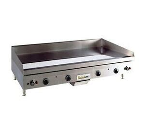 Countertop Griddle Gas - anets 72 quot countertop gas griddles a24x72g ebay