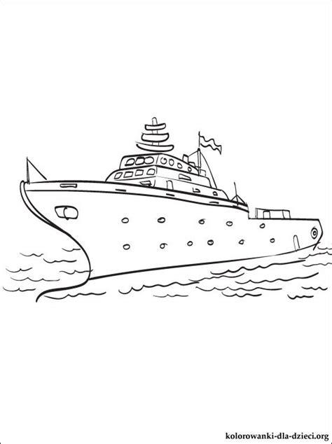 kolorowanka statek towarowy kolorowanki dla dzieci