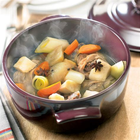 pot au feu de veau au c 233 leri recette weight watchers