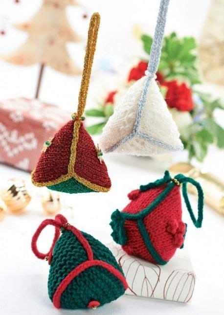 christmas decorations lets knit magazine  pattern
