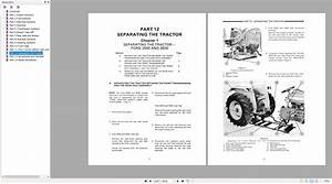 New Holland Tractor Series 10  Series 30 Service Manual