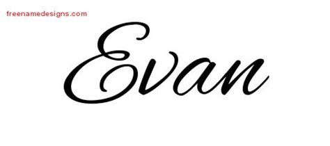 cursive  tattoo designs evan  graphic
