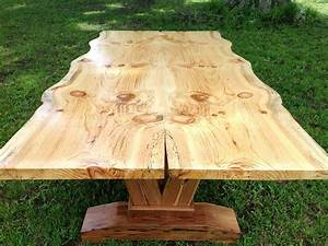 Handcrafted, Live, Edge, Table