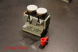 How to Build a Starbucks Mastrena Espresso Machine out of LEGO Bricks   YouTube