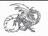 Dragon Coloring Pages Whip Razor Template sketch template