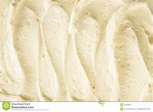Background Texture Of Creamy Vanilla Ice-cream Stock Photo ...